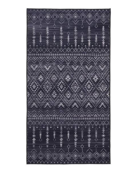 Čierny koberec Möbelix