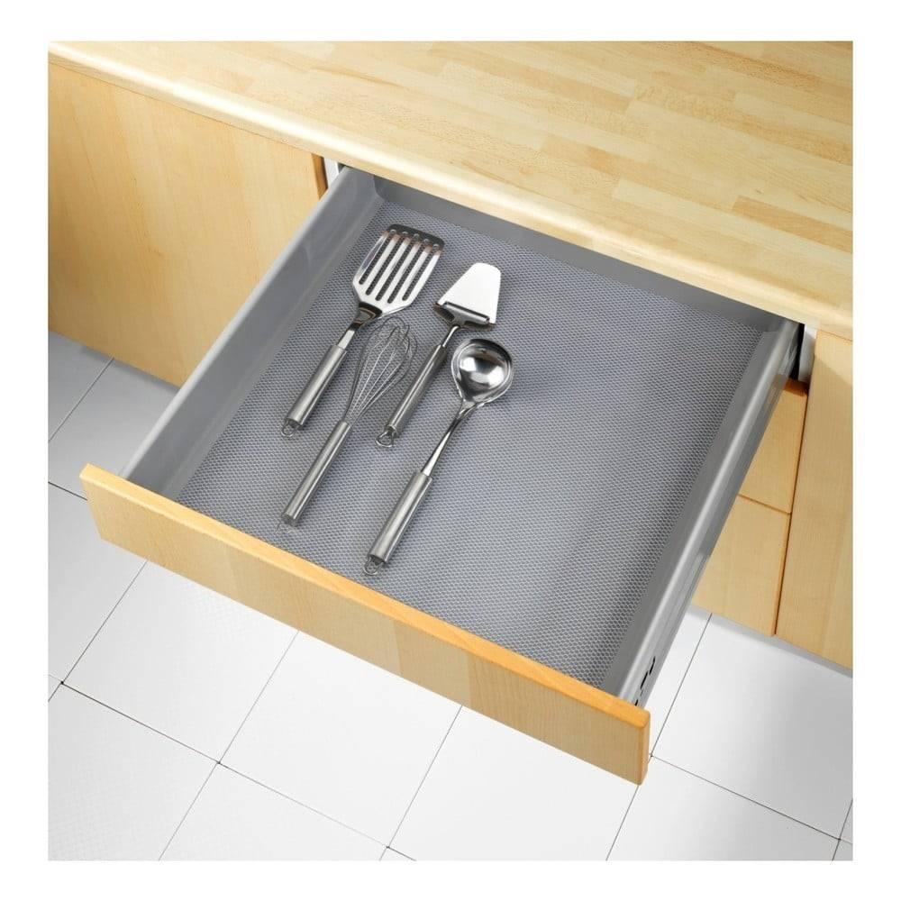 Wenko Priehladná protišmyková podložka do zásuvky Wenko Anti Slip Mat, 150x50 cm