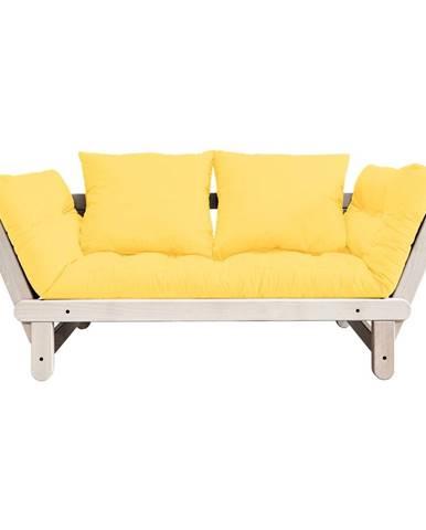 Variabilná pohovka Karup Design Beat Natural/Yellow