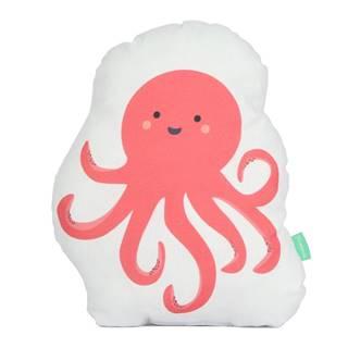 Vankúšik z čistej bavlny Happynois Octopus, 40×30 cm